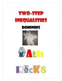 Two-Step Inequalities Dominoes