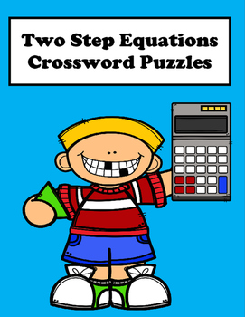 Two Step Equations Crossword