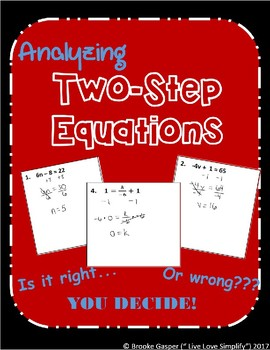 Two - Step Equations