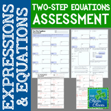 Solving Two-Step Equations Assessment