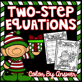 Two-Step Equations Color By Answer