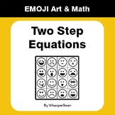 Two Step Equations - Emoji Math & Art - Draw by Number | C