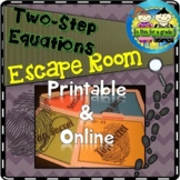 Two Step Equations Escape Room Activity