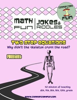 Two Step Equations FUNsheet