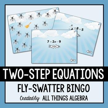 Two-Step Equations Bingo