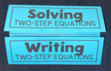 Two-Step Equations (Foldable)
