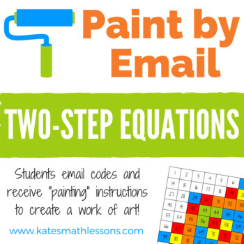 Two-Step Equations Fun Activity - Paint by Email