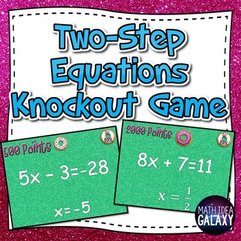 Two-Step Equations Game