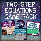 Two Step Equations Game Bundle