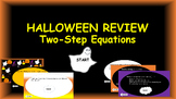 Two-Step Equations: Halloween Review Game