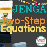 Two Step Equations JENGA Game