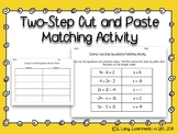 Two Step Equations Matching