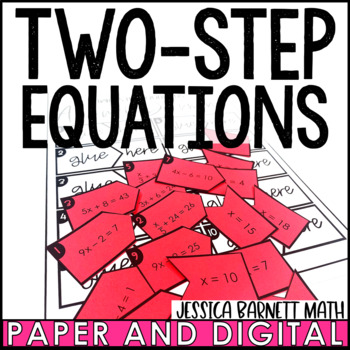 Two Step Equations Matching Activity