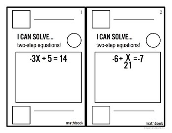 Two-Step Equations - Mathbook