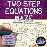 Two Step Equations Digital Resource
