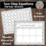 Two-Step Equations Partner Activity