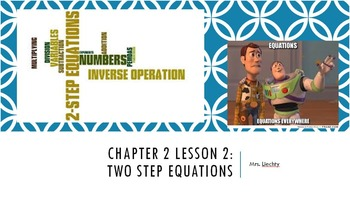 Two Step Equations PowerPoint