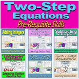 Two-Step Equations & Pre-Requisite Skills - Learning Stati