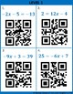 Two Step Equations QR Codes