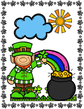 TWO STEP EQUATIONS MATH COLOR BY NUMBER, QUIZ - ST PATRICK'S DAY