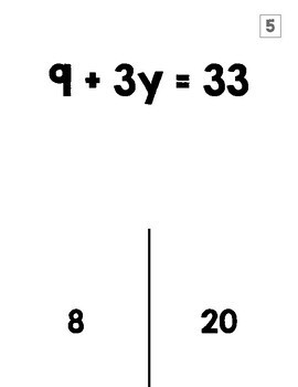 two step equations trick or treat halloween activity by 8th grade Halloween Candy Math two step equations trick or treat halloween activity