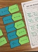 Two-Step Equations (With Integers) Matching Activity - CCSS 7.EE.B.3 Aligned