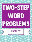 Two-Step Equations Word Problem Sort
