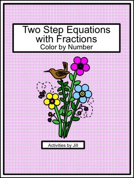 Two Step Equations with Fra... by Activities by Jill | Teachers ...