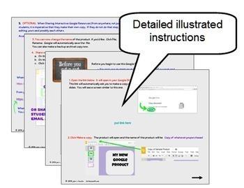 Two Step Equations Digital Task Cards with GOOGLE Slides™