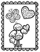 Two-Step Equations with Integers Valentine's Coloring Sheet