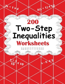 Inequalities Worksheet Teaching Resources Teachers Pay Teachers