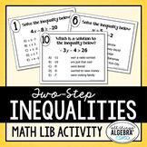 Two-Step Inequalities Math Lib