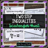 Two Step Inequalities: Scavenger Hunt