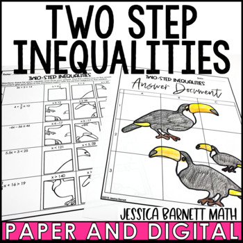 Two-Step Inequalities Solve and Sketch