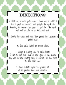 Two-Step Inequalities With Decimals Scavenger Hunt