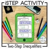 Two-Step Inequalities Activity - iStep