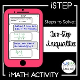 Two-Step Inequalities Activity - iStep
