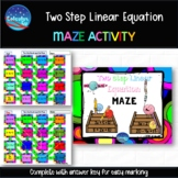 Two Step Linear Equation Maze
