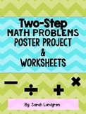 Two Step Math Problem Activity