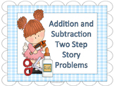 Two-Step Math Story Problems
