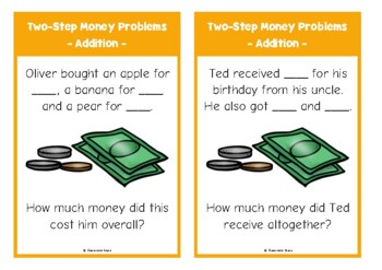 Two-Step Money Problems