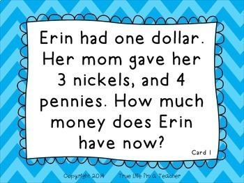 Two-Step Money Word Problems {CC 2.MD.8}
