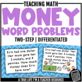 Two-Step Money Word Problems