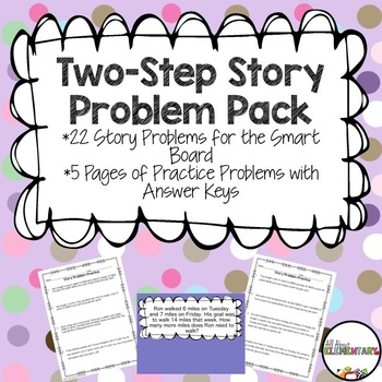 Two-Step Story Problems