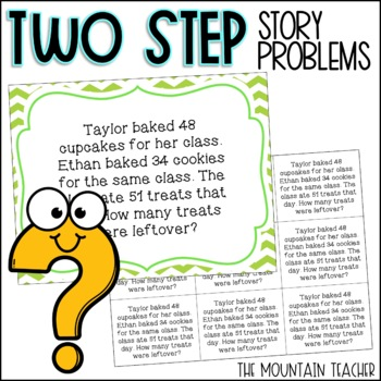 Two Step Story Problems