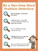 Two Step Word Problem Detectives