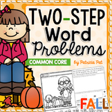 Coloring Pages Fall Two Step Word Problems