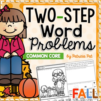 Color by Code Two Step Word Problems Fall