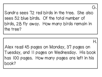 Two Step Word Problem Scoot