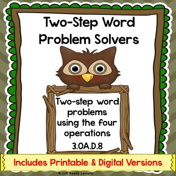 Two Step Word Problem 3rd Grade Worksheets Add Subtract Multiply ...